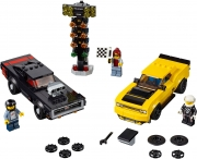 LEGO 75893 - LEGO SPEED CHAMPIONS - 2018 Dodge Challenger SRT Demon and 1970 Dodge Charger R/T