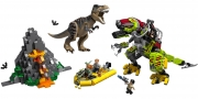 LEGO 75938 - LEGO JURASSIC WORLD - T. rex vs Dino Mech Battle