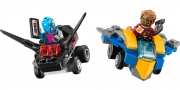 LEGO 76090 - LEGO MARVEL SUPER HEROES - Mighty Micros: Star Lord vs. Nebula
