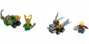 LEGO 76091 - LEGO MARVEL SUPER HEROES - Mighty Micros: Thor vs. Loki
