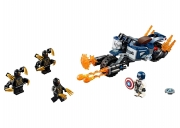 LEGO 76123 - LEGO MARVEL SUPER HEROES - Captain America: Outriders Attack