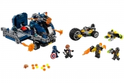 LEGO 76143 - LEGO MARVEL SUPER HEROES - Avengers Truck Take down