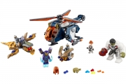 LEGO 76144 - LEGO MARVEL SUPER HEROES - Avengers Hulk Helicopter Rescue