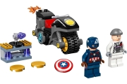 LEGO 76189 - LEGO MARVEL SUPER HEROES - Captain America and Hydra Face Off
