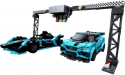 LEGO 76898 - LEGO SPEED CHAMPIONS - Formula E Panasonic Jaguar Racing GEN2 car & Jaguar I PACE eTROP