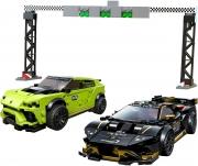 LEGO 76899 - LEGO SPEED CHAMPIONS - Lamborghini Urus ST X & Lamborghini Huracán Super Trofeo EVO