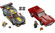 LEGO 76903 - LEGO SPEED CHAMPIONS - Chevrolet Corvette C8.R Race Car and 1968 Chevrolet Corvette