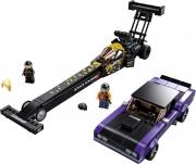 LEGO 76904 - LEGO SPEED CHAMPIONS - Mopar Dodge//SRT Top Fuel Dragster and 1970 Dodge Challenger T/A