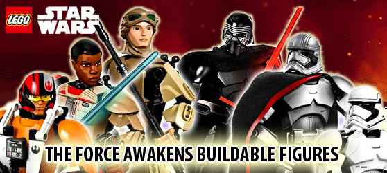 LEGO STARWARS THE FORCE AWAKENS BUILDABLE FIGURES 2016