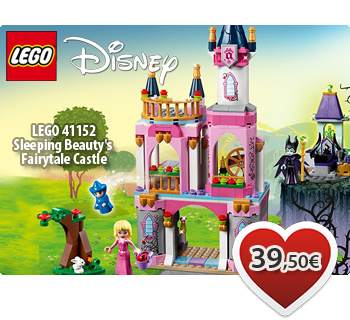LEGO DISNEY 41152  Sleeping Beauty's Fairytale Castle