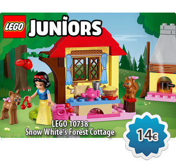 Toymania Lego Online Shop - LEGO JUNIORS 10738  Snow White's Forest Cottage