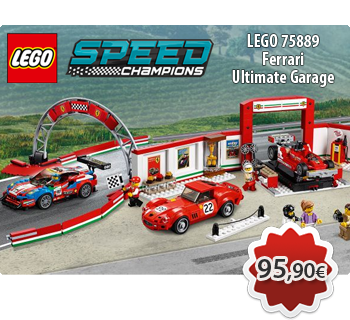Toymania Online Lego Shop - LEGO SPEED CHAMPIONS 75889  Ferrari Ultimate Garage