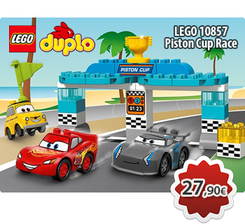 Toymania Online Lego Shop - Piston Cup Race