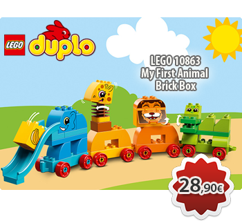 Toymania Online LEGO SHOP - LEGO DUPLO 10863  My First Animal Brick Box