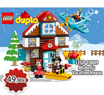 lToymania Lego Online Shop - LEGO DUPLO 10889  Mickey's Vacation House