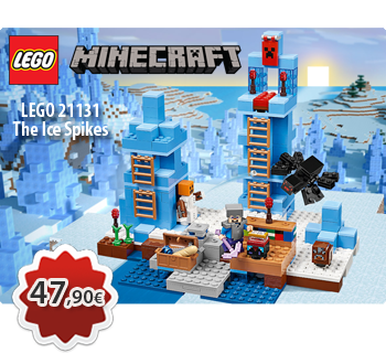 Toymania Online Lego Shop - LEGO MINECRAFT 21131  The Ice Spikes