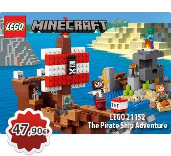 Toymania Lego Online Shop - LEGO MINECRAFT 21152  The Pirate Ship Adventure