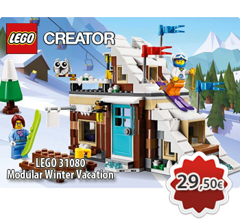 Toymania Online Lego Shop - LEGO CREATOR 31080  Modular Winter Vacation