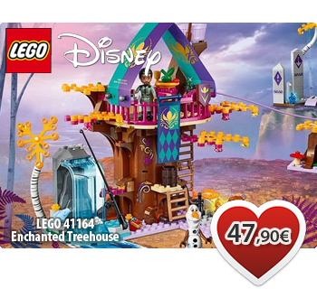 lToymania Lego Online Shop - LEGO DISNEY 41164  Enchanted Treehouse  Μαγεμένο Δεντρόσπιτο