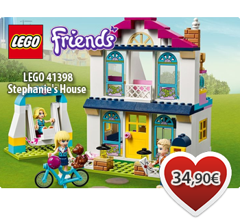 Toymania Lego Online Shop - LEGO FRIENDS 41398  Stephanie's House