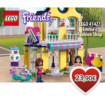Toymania Lego Online Shop - LEGO FRIENDS 41427  Emma's Fashion Shop  Κατάστημα Μόδας της Έμμα