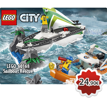 LEGO CITY 60168  Sailboat Rescue
