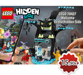 Toymania Online Lego Shop - LEGO HIDDEN SIDE 70427  Welcome to the Hidden Side