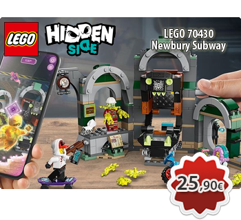lToymania Lego Online Shop - LEGO HIDDEN SIDE 70430  Newbury Subway