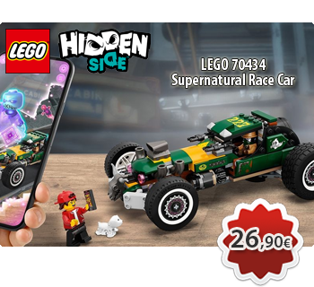 lToymania Lego Online Shop - LEGO HIDDEN SIDE 70434  Supernatural Race Car  Υπερφυσικό Αγωνιστικό Αυτοκίνητο