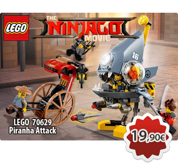 Toymania Lego Online Shop - LEGO NINJAGO MOVIE 70629 Piranha Attack