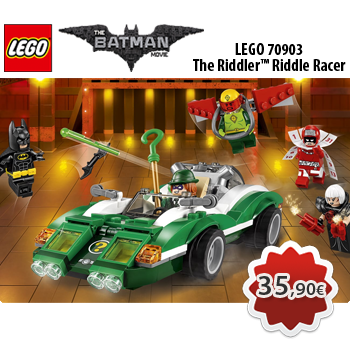 LEGO THE LEGO BATMAN MOVIE 70903  The Riddler™ Riddle Racer