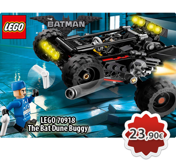 Toymania Online Lego Shop - LEGO THE LEGO BATMAN MOVIE 70918  The Bat Dune Buggy