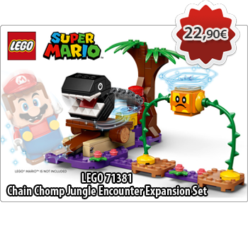 lToymania Lego Online Shop - LEGO SUPER MARIO 71381  Chain Chomp Jungle Encounter Expansion Set  Πίστα Επέκτασης Συνάντηση με Chain Chomp στη Ζούγκλα