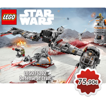Toymania Online Lego Shop - LEGO STAR WARS 75202  Defense of Crait