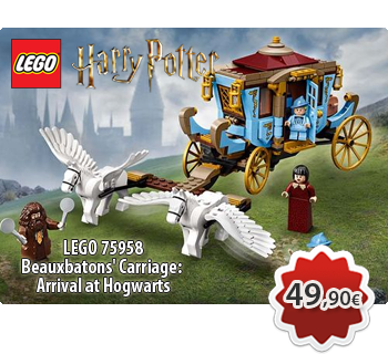 lToymania Lego Online Shop - LEGO HARRY POTTER 75958  Beauxbatons' Carriage: Arrival at Hogwarts