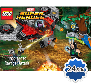 LEGO MARVEL SUPER HEROES 76079  Ravager Attack