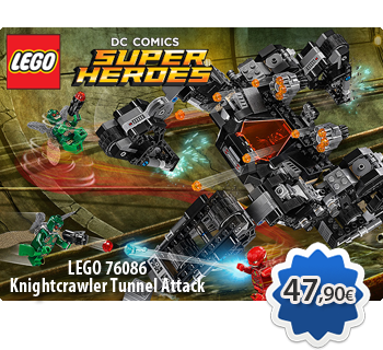 LEGO DC COMICS SUPER HEROES 76086  Knightcrawler Tunnel Attack