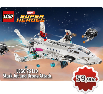 Toymania Lego Online Shop - LEGO MARVEL SUPER HEROES 76130  Stark Jet and Drone Attack